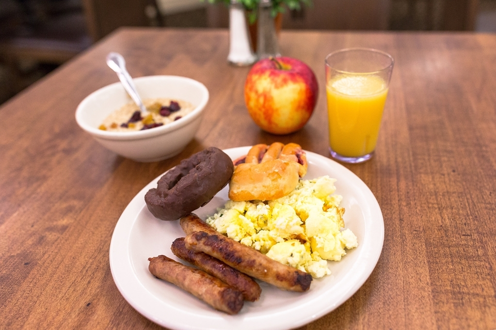 Best Western Heritage Inn - desayuno de cortesía