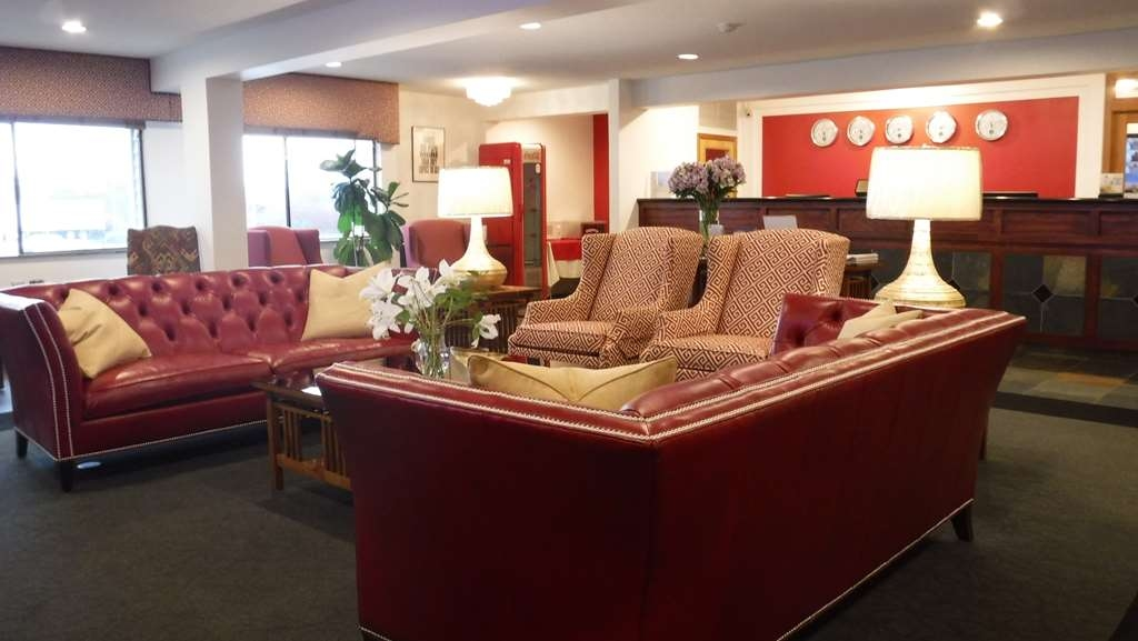 Best Western Plus Skagit Valley Inn and Convention Center - Vue du lobby