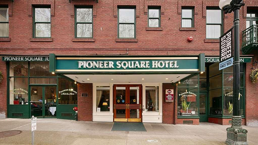 Best Western Plus Pioneer Square Hotel Downtown - Aussenansicht