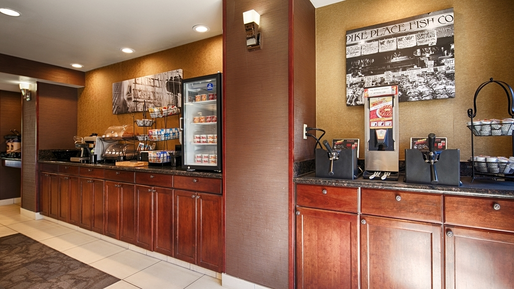 Best Western Alderwood - Join us every morning for a variety of your favorite morning treats.