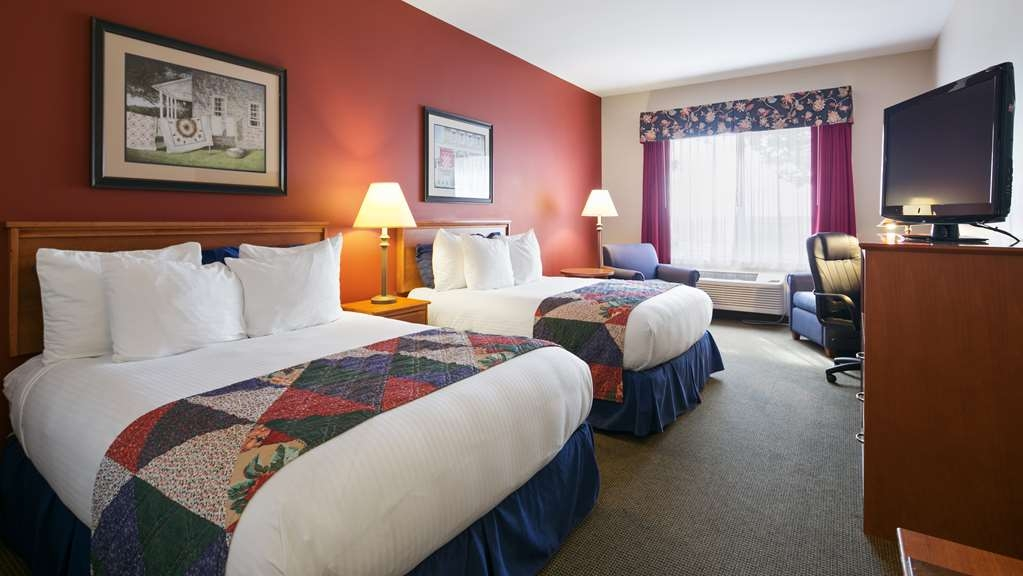 Best Western Bronco Inn - Two Queen Guest Room