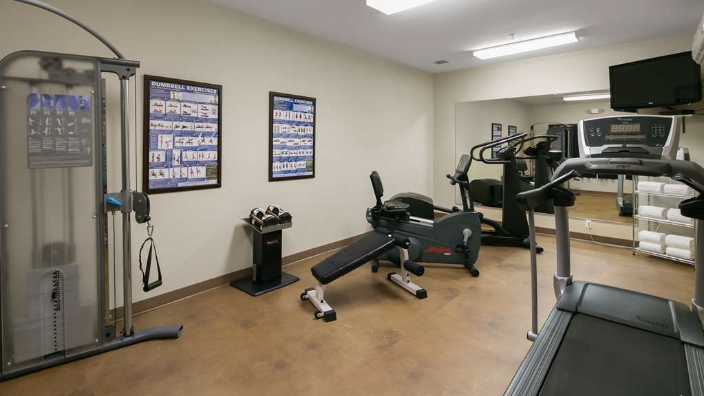 Best Western Bronco Inn - Our exercise facility is open 24-hours a day.