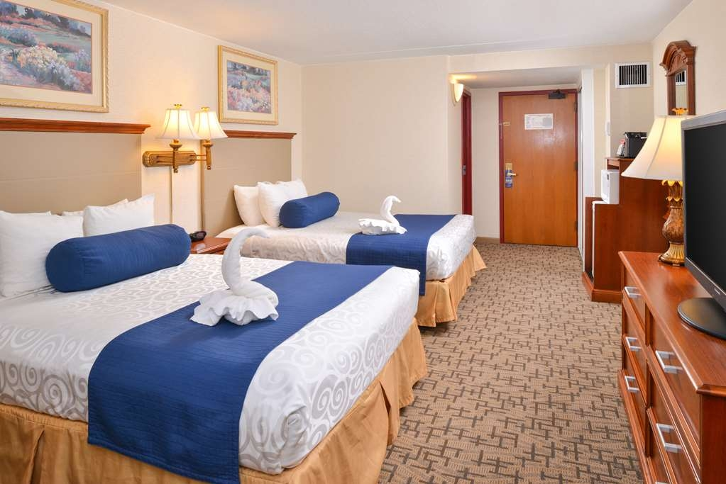 Best Western Plus Tacoma Dome Hotel - Double Queen Guest Room - All of our rooms are 100% non-smoking.