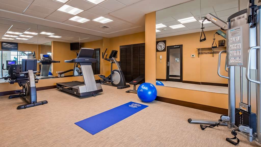 Best Western Plus Dayton Hotel & Suites - Our fitness center is open from 7 a.m. to 10 p.m.