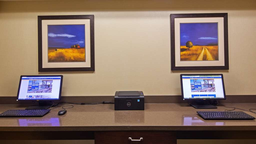 Best Western Plus Dayton Hotel & Suites - Visit the business center to stay connected on the road.