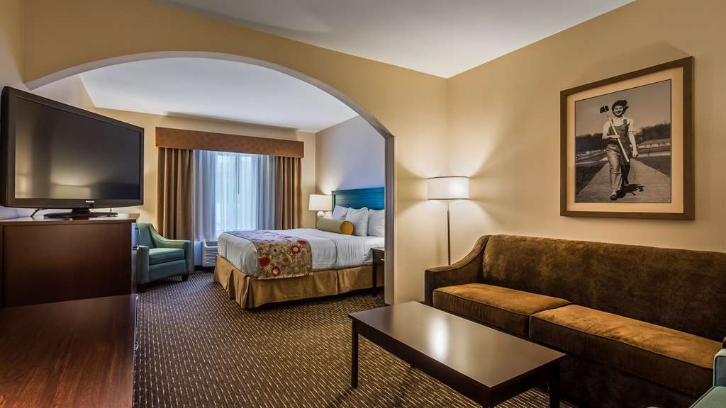 Best Western Plus Dayton Hotel & Suites - The king suite is perfect if you are looking for a little extra room.