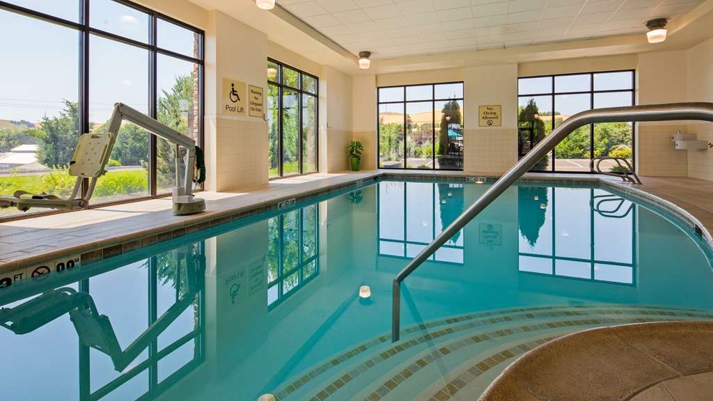 Best Western Plus Dayton Hotel & Suites - Don't let the weather stop you from jumping in. Our indoor pool is heated year-round for you and your friends.