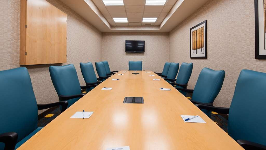 Best Western Plus Dayton Hotel & Suites - Our 12 chair boardroom is the perfect spot for your business meeting.