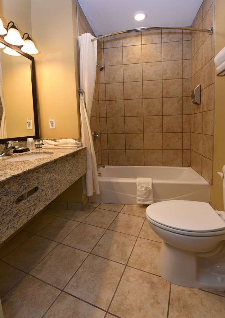 Best Western Plus Vintage Valley Inn - Standard King Bathroom with Hair Dryer & shower dispenser