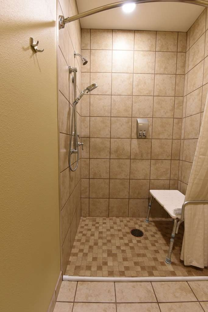 Best Western Plus Vintage Valley Inn - Standard King ADA Mobility Accessible Roll In Shower