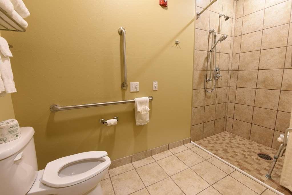 Best Western Plus Vintage Valley Inn - Standard King ADA Mobility Accessible Bathroom Roll in Shower