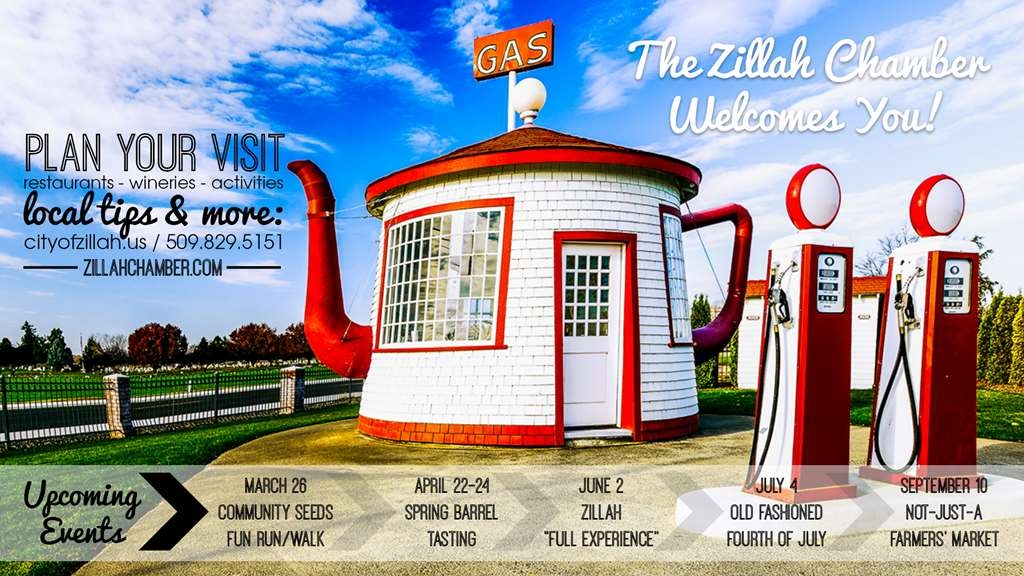 Best Western Plus Vintage Valley Inn - Zillah Tea Pot Gas Station site on the Historical Register