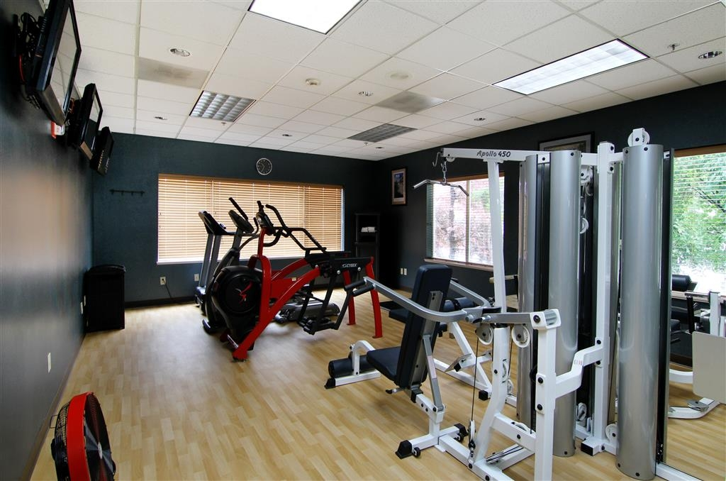 Best Western Plus City Center - Our fitness center is outfitted with everything you need for a great workout.