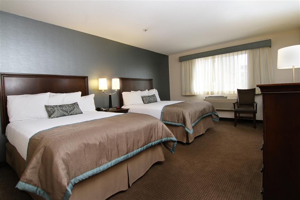 Best Western Plus City Center - Two queen beds, 40-inch TV, Keurig® coffee, refrigerators and more!