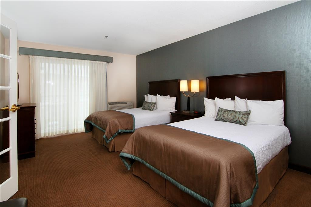 Best Western Plus City Center - Family Suite--bedroom area.