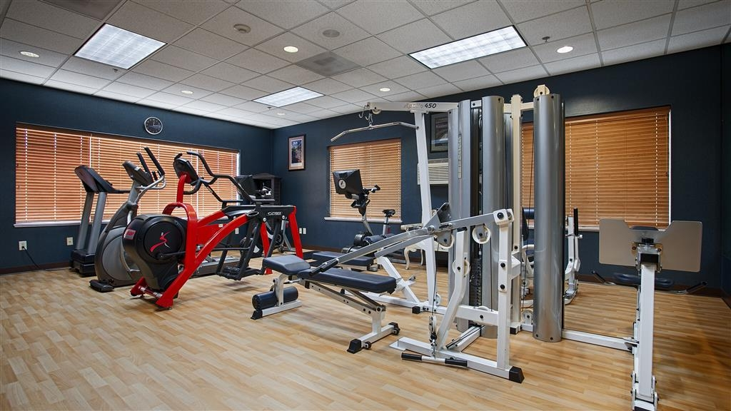 Best Western Plus City Center - Fit a workout into your busy day during your stay with the convenience of our 24-hour fitness center.