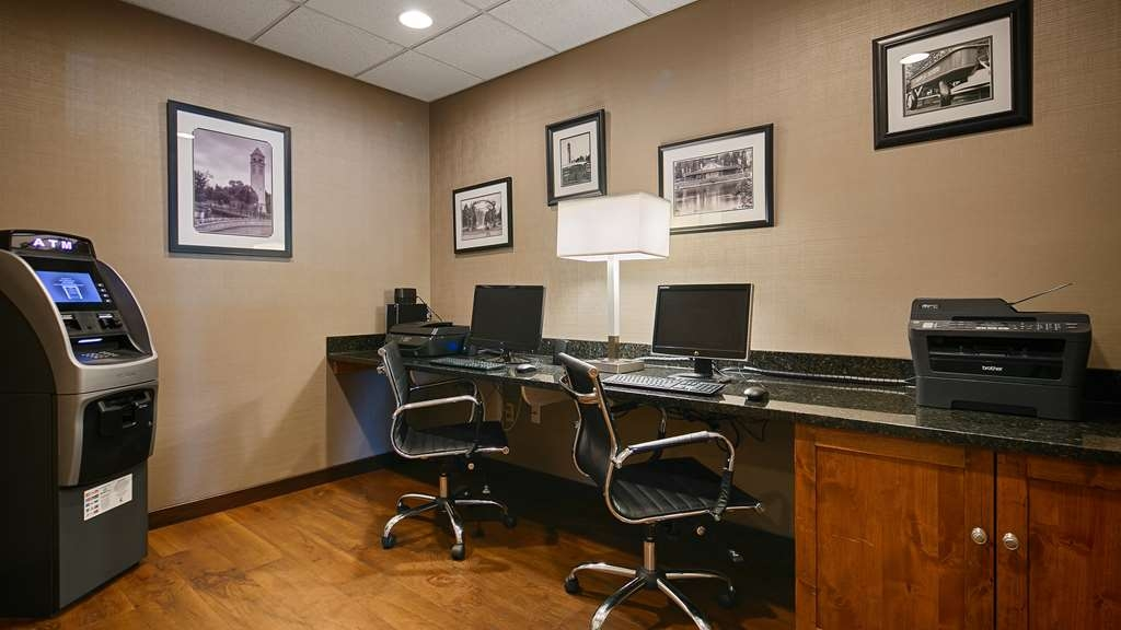 Best Western Plus City Center - Make use of our business center with complimentary Internet, fax and copy services.