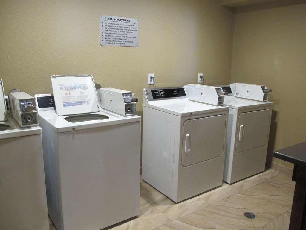 Best Western Woodland Inn - We have washers and dryers on-site for your use. Change, laundry soap, and dryer sheets are available at the front desk.