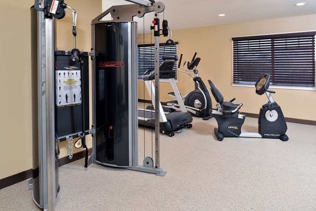 Best Western Long Beach Inn - fitnessraum