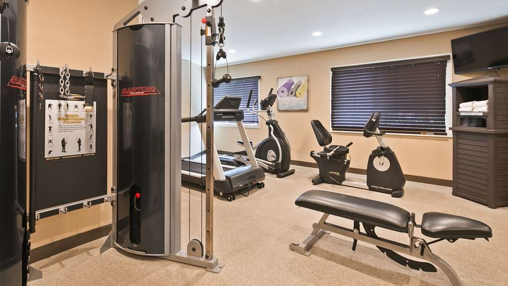 Best Western Long Beach Inn - Fitnessstudio