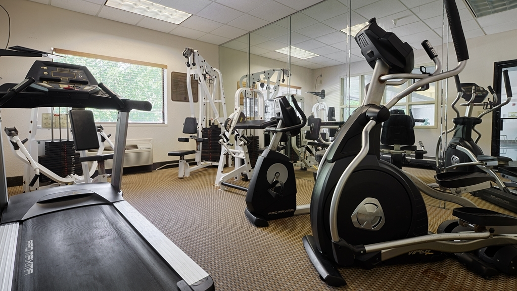 Best Western Logan Inn - Enjoy our 24-hour fitness center with state-of-the-art cardio and weigh equipment for your convenience.