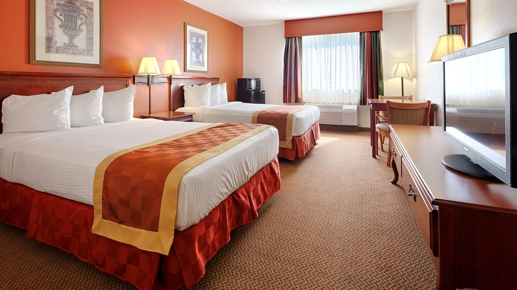 Best Western Logan Inn - If your bringing a family of four then make a reservation for our double bedroom.
