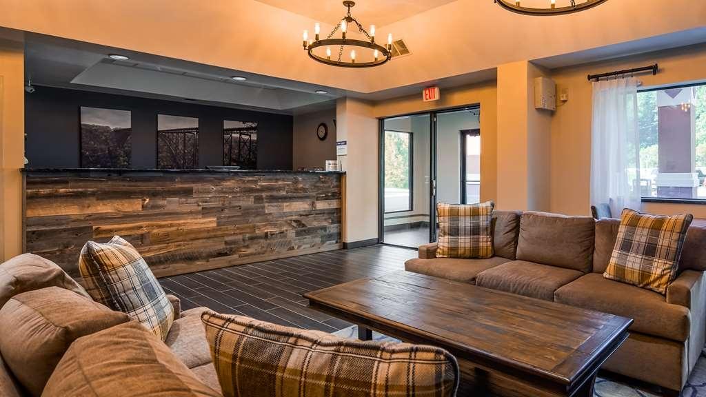 Best Western Logan Inn - Reception