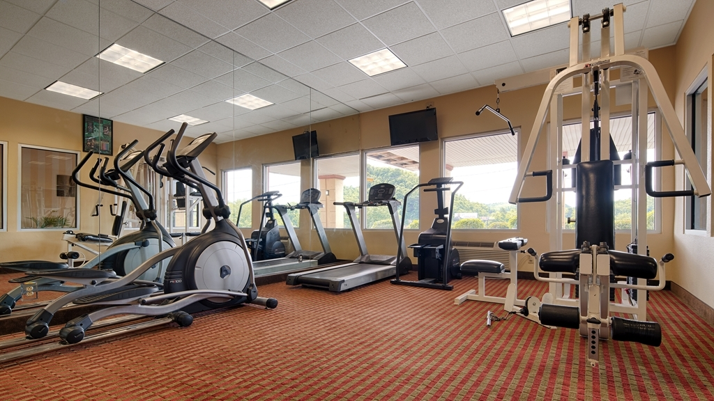 Best Western Mountaineer Inn - Enjoy our 24-hour fitness center with state-of-the-art cardio and weight equipment for your convenience.