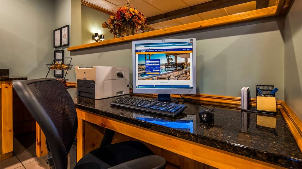 Best Western Inn - Never miss a beat while on the road with complimentary free high-speed Internet in our business center.