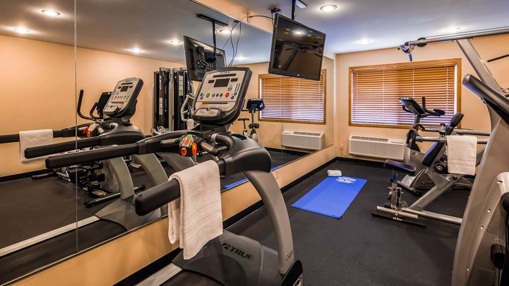 Best Western Inn - Catch an episode of your favorite show while working off those pesky calories