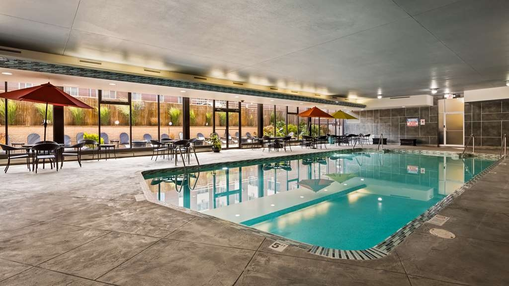 Best Western Milwaukee West - The indoor pool is perfect for swimming laps or taking a quick dip.