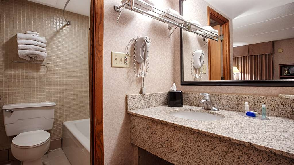 Best Western Bridgeview Hotel - Guest Bathroom