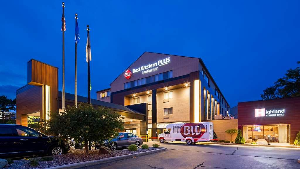 Best Western Plus InnTowner Madison - Newly Upgraded Exterior
