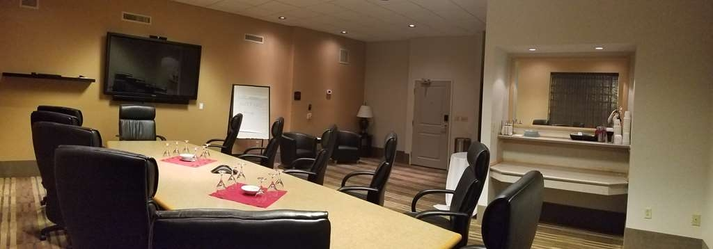 Best Western Plus InnTowner Madison - Our meeting room is perfect for a small size meeting, presentation or training. It features 12 large chairs and a 50-inch Mondopad.