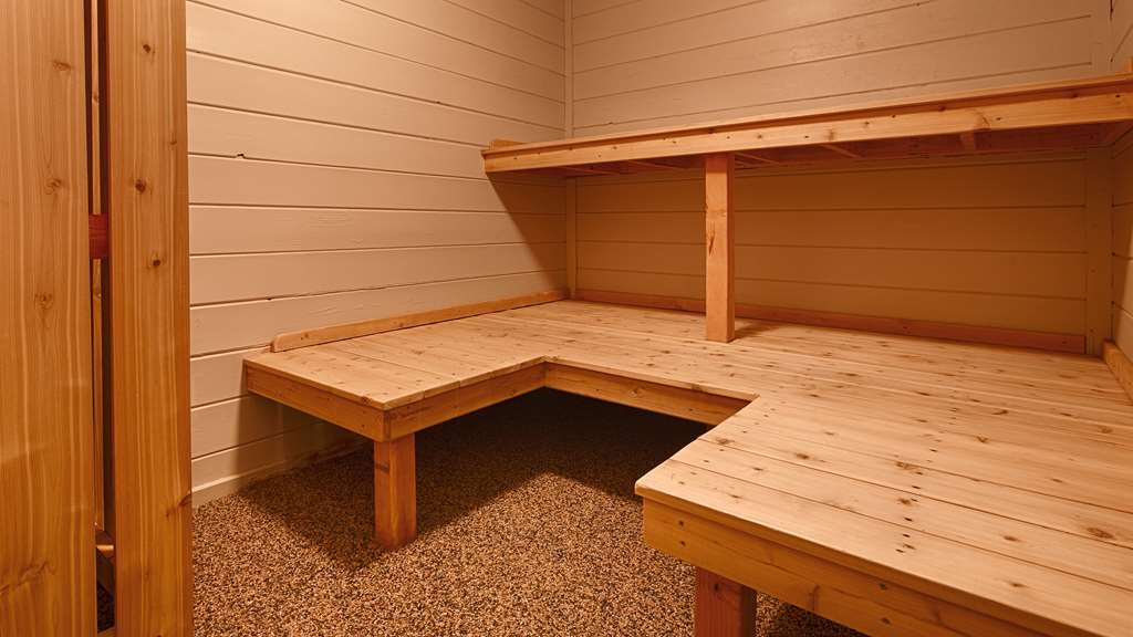 Best Western Ambassador Inn & Suites - Step into our sauna and learn the true meaning of relaxation!