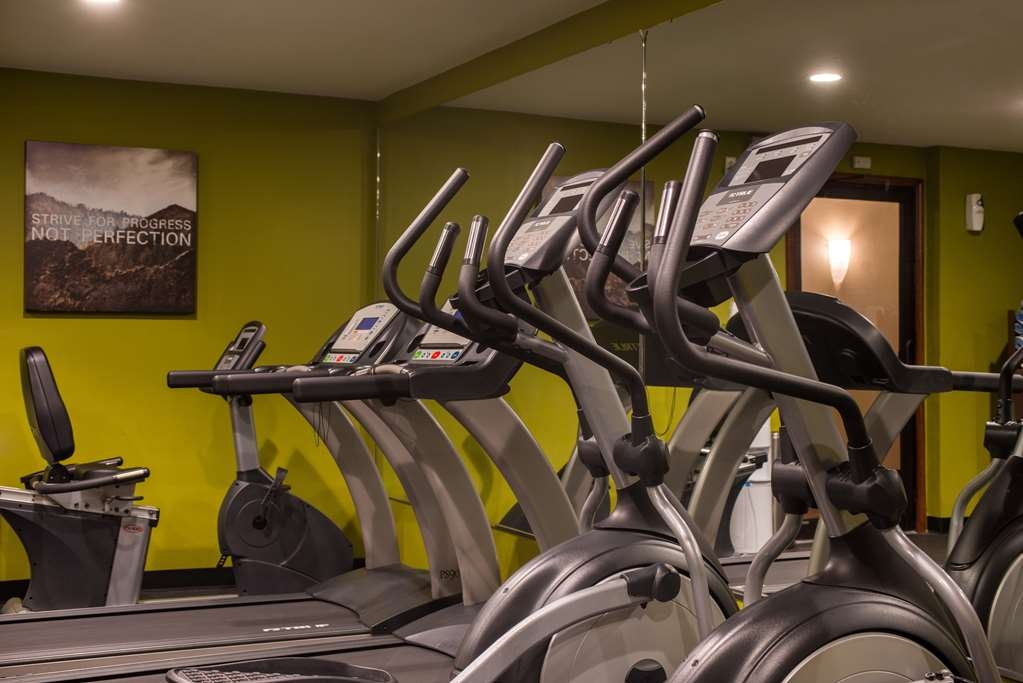 Best Western Ambassador Inn & Suites - Work up a sweat or burn off breakfast in our Fitness Center