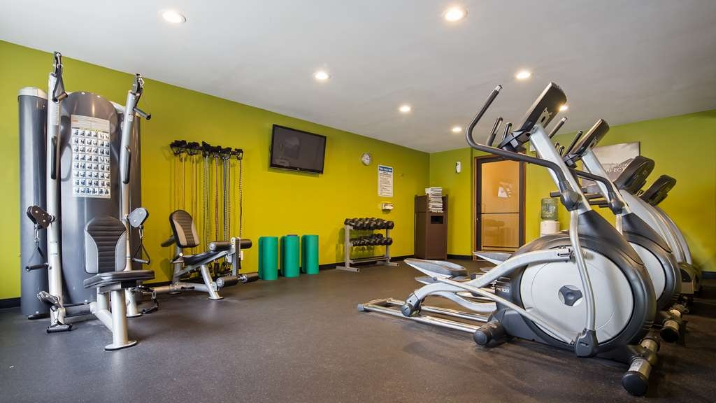 Best Western Ambassador Inn & Suites - No need to break from your fitness routine when you stay with us.