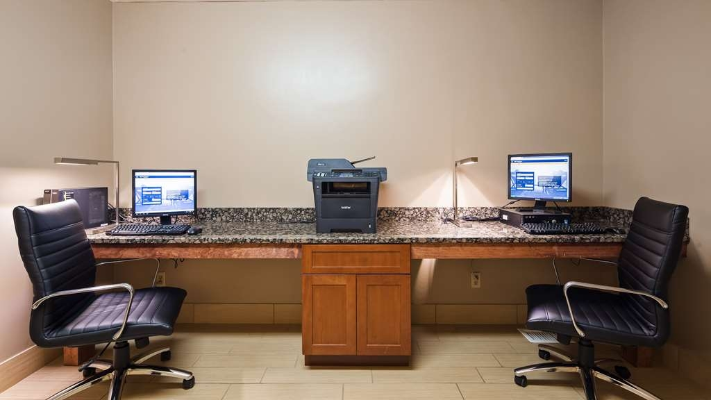 Best Western Ambassador Inn & Suites - Stay productive in our business center during your time away.