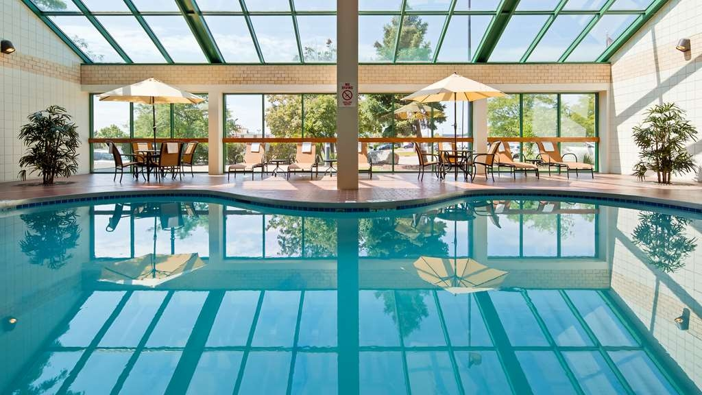 Best Western East Towne Suites - The indoor pool is perfect for swimming laps or taking a quick dip.