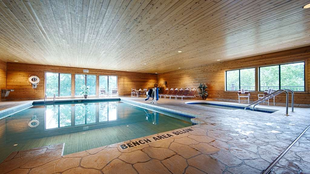 Best Western Spooner Riverplace - Don't let the weather stop you from jumping in our indoor pool is heated year-round for you and your friends.