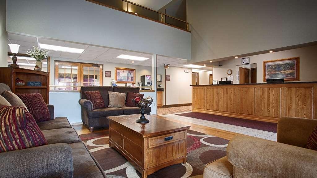 Best Western Spooner Riverplace - Vue du lobby