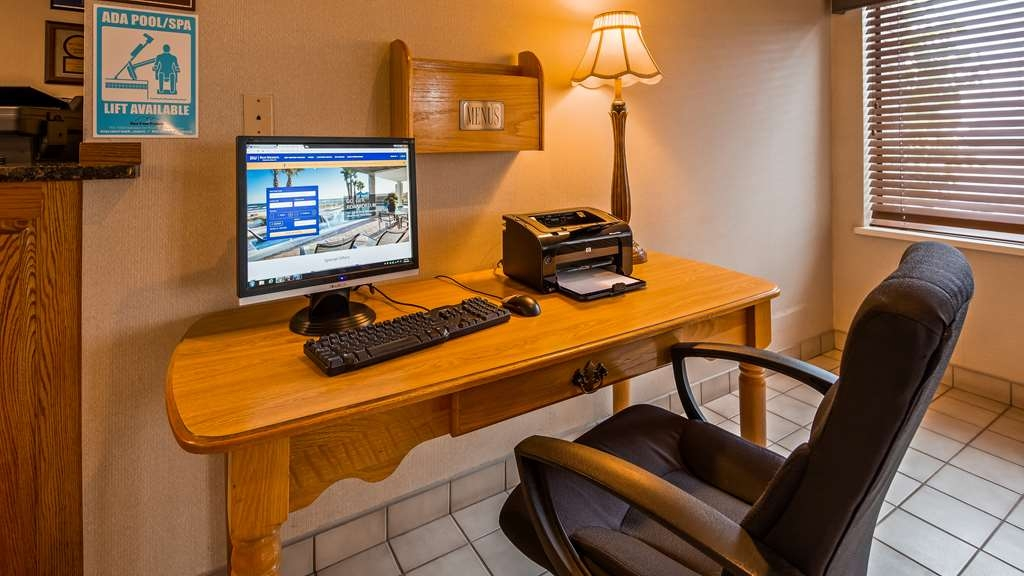 Best Western Spooner Riverplace - Our business center is available to help your prepare travel itineraries send emails or browse the web.