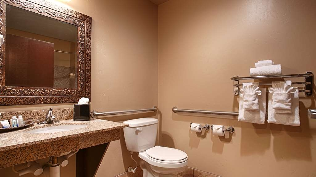 Best Western Crandon Inn & Suites - Forgot Shampoo? Do not worry we have you covered complimentary shampoo, conditioner and lotion are provided.