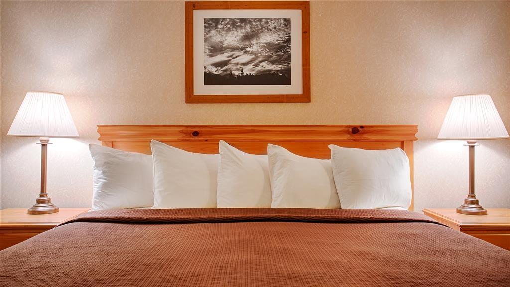 Best Western Wittenberg Inn - King room has Fridge and plenty of room for the business traveler.
