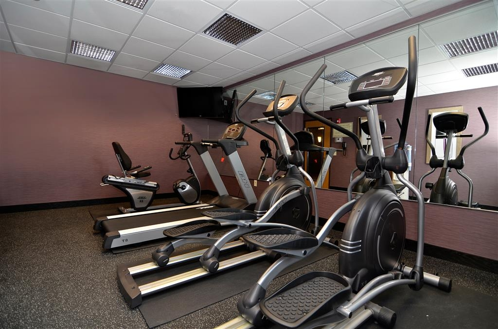 Best Western Plover-Stevens Point Hotel & Conference Ctr - Stay in shape with our brand new fitness center.