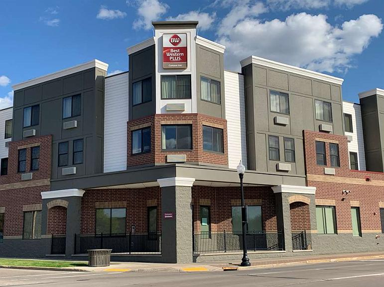 Best Western Plus Campus Inn - Vista exterior