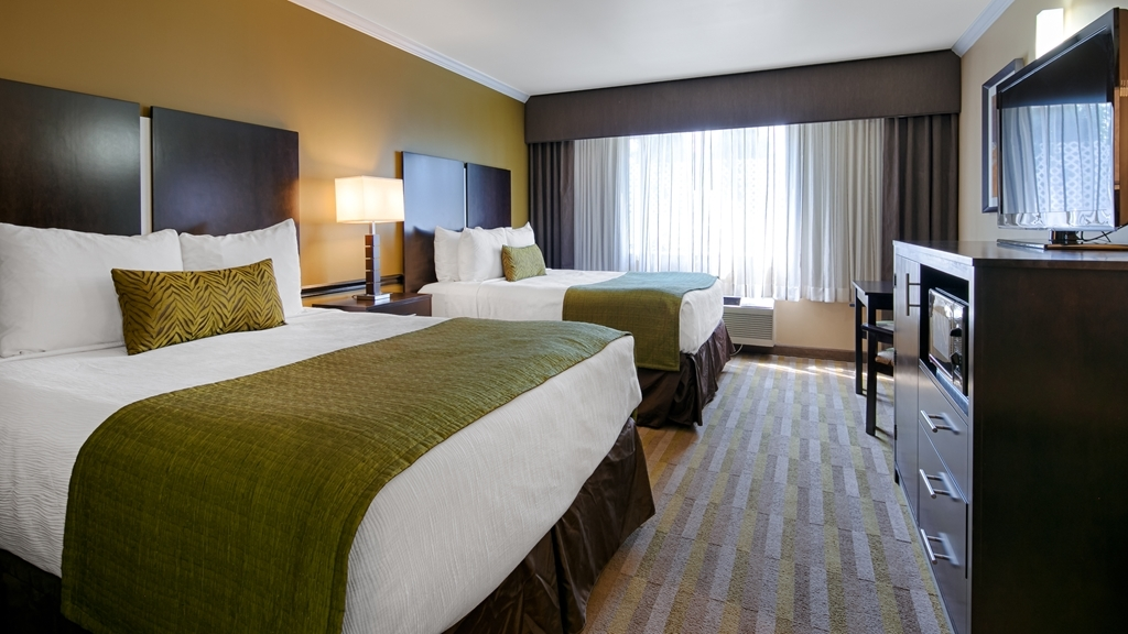 Best Western Canoga Park Motor Inn - Two Queen Guest Room
