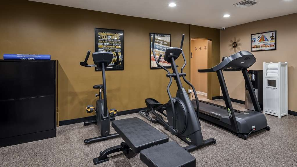Best Western Canoga Park Motor Inn - Fitness Center
