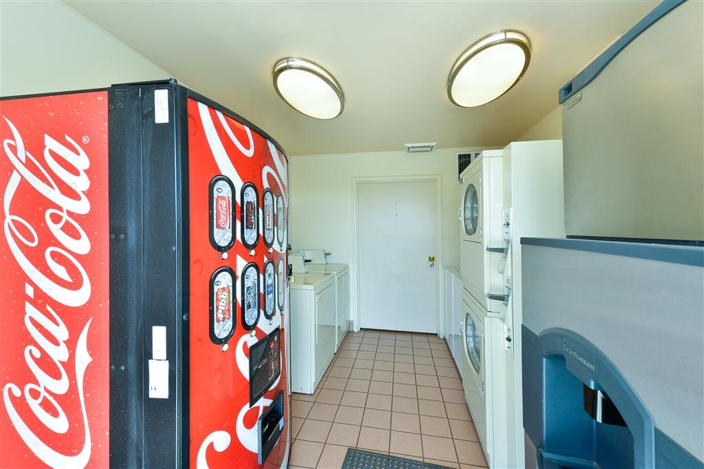 Best Western Plus Frontier Motel - Travel home with a clean bag of laundry or grab a snack in our guest service area.