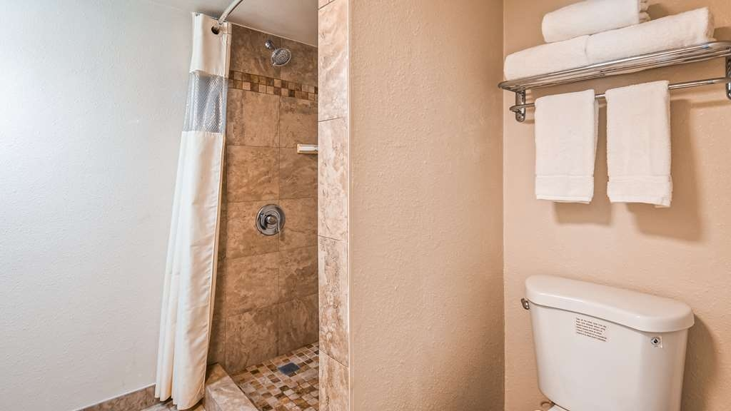 Best Western Town House Lodge - Deluxe Room Bathroom